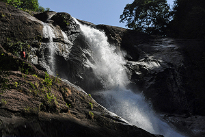 waterfalls near Kithulgala