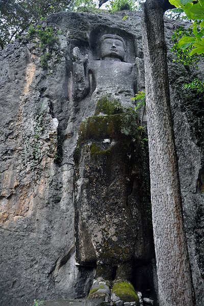 Dowa Rock Buddha Sculpture