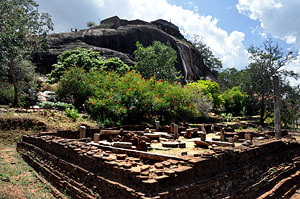 Situlpahuwa ruins in Yala National Park