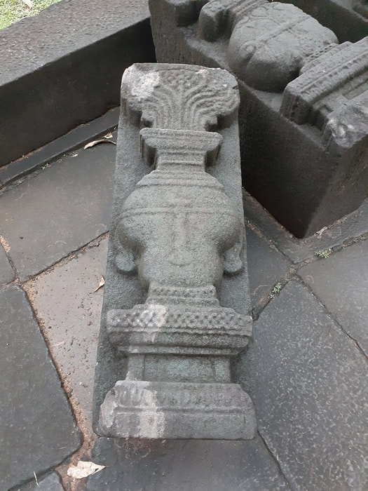 Purnagaths carving at Barandiya Kovil