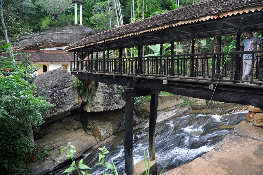 ancient wood bridge of Bogoda