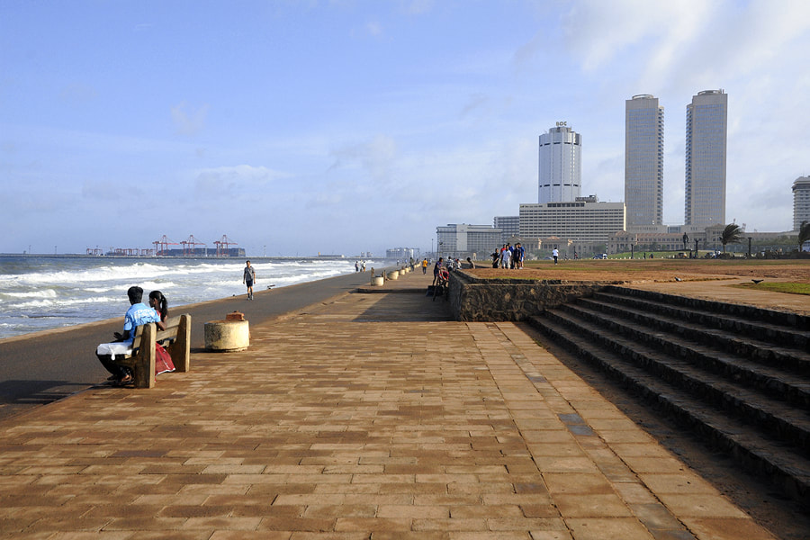 Galle Face Green promenade