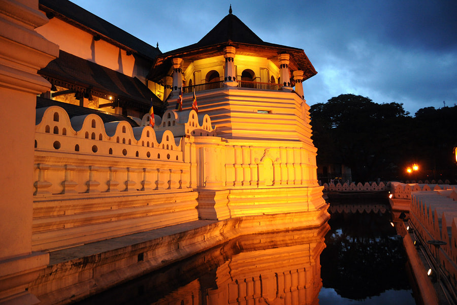 Tooth Temple in Kandy