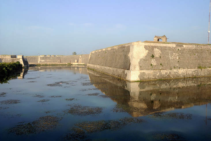 Dutch Fort in Jaffna in northern Sri Lanka