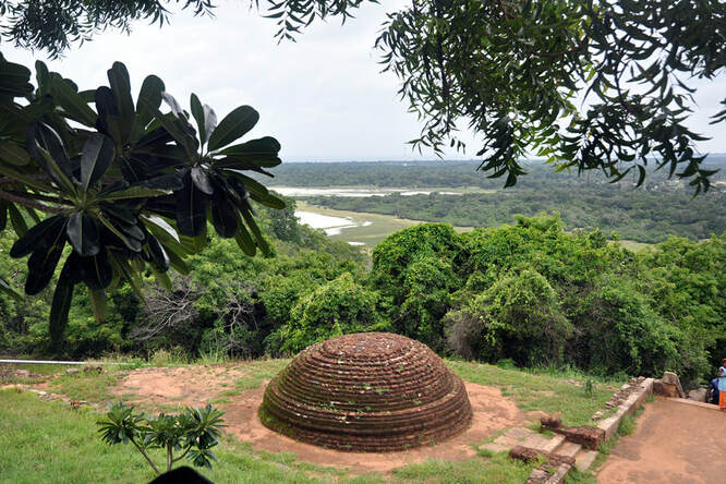 view from Thiriyai to Sri Lanka's northeastern coast
