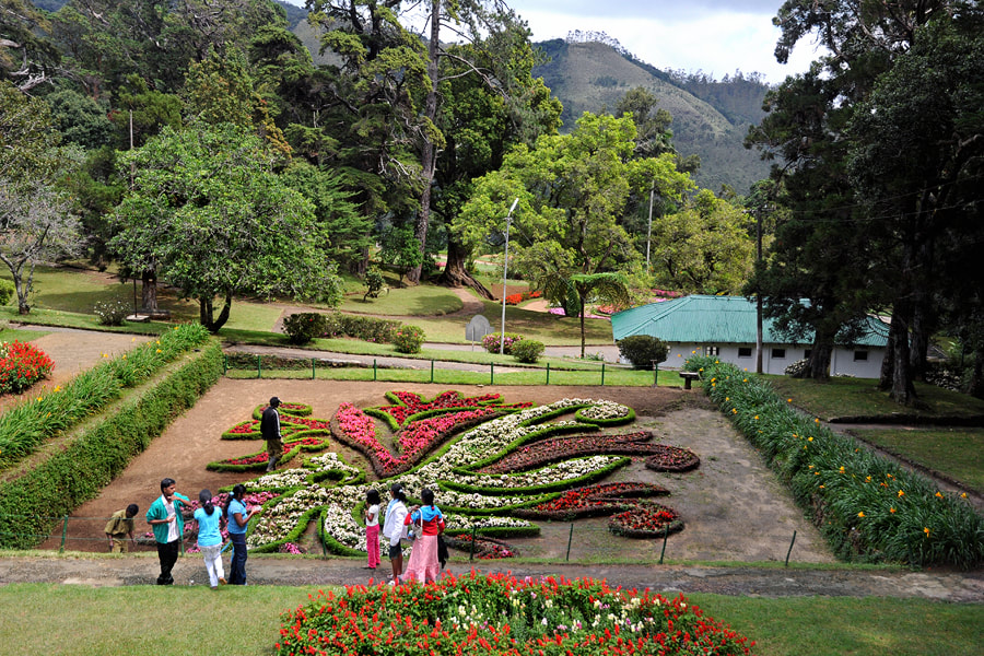 Hakgala, A Village At A Rock Of The Same Name 16 Km Southeast Of Nuwara  Eliya, Harbours Sri Lankau0027s Second Largest Botanical Garden, The Only One  In The ...