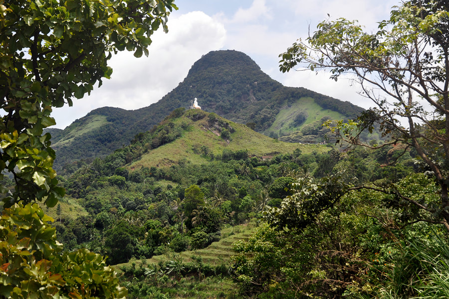 Hunasgiriya mountain