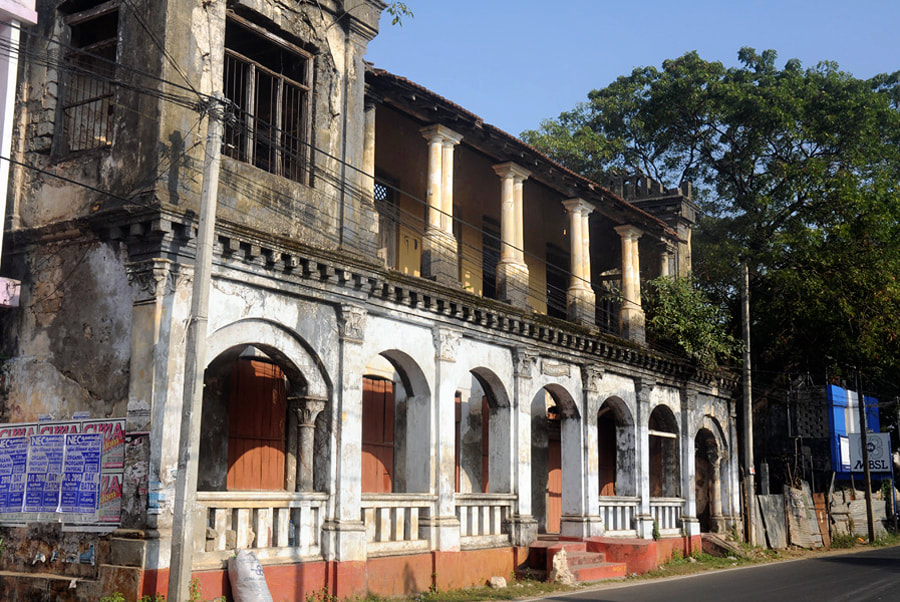 colonial building in Jaffna