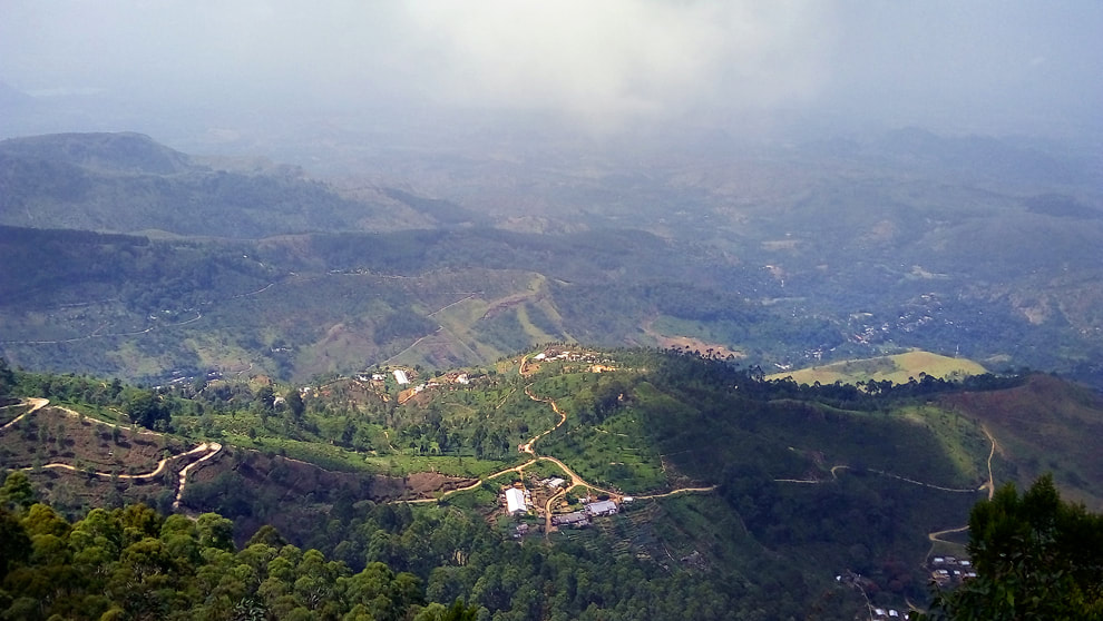 Haputale in Sri Lanka's highlands is famous for its panoramiv views