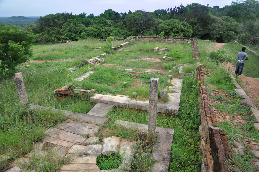 northern monastic complex of Thiriyai in Sri Lanka