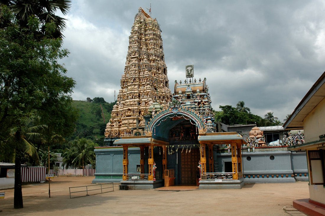 Muthumariamman Hindu temple in Matale
