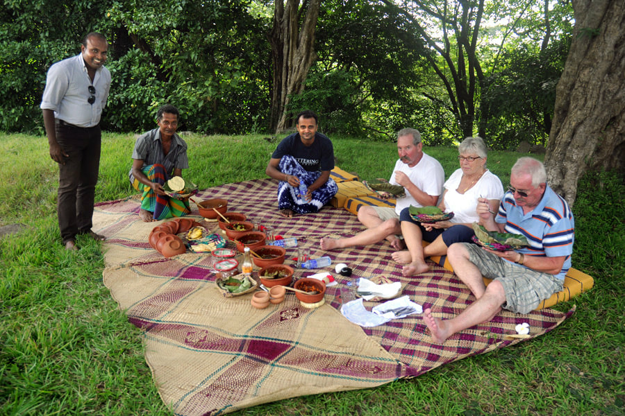 Picnic in Mihintale