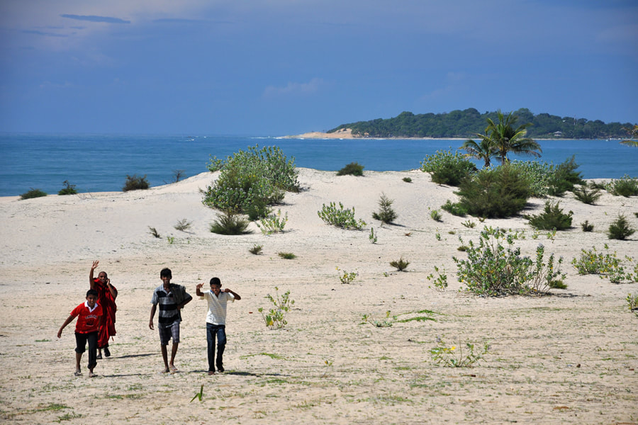 Pottuvil Dunes at Arugam Bay