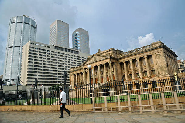 Old Parliament Building in Colombo