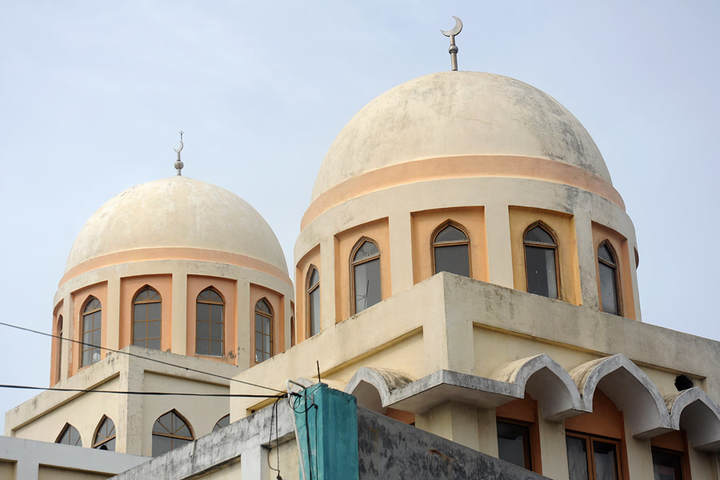 mosque in Puttalam in Sri Lanka
