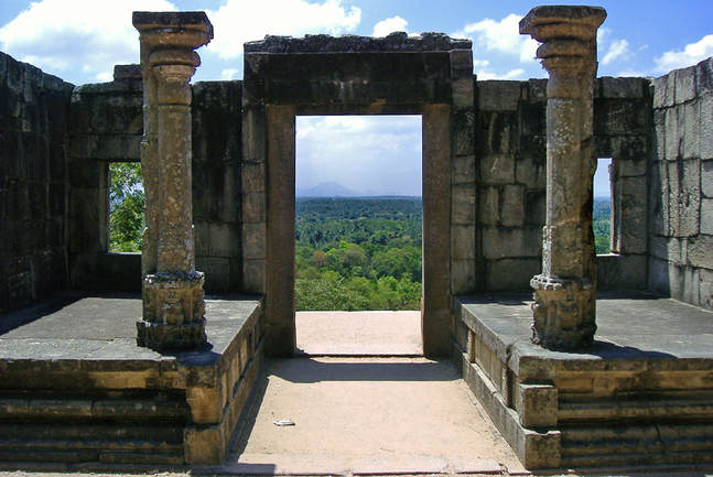 Yapahuwa gateway interior side