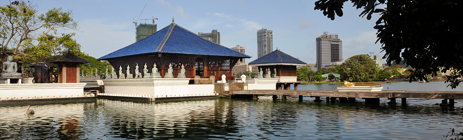 Seema Malaka in Colombo's Beira Lake