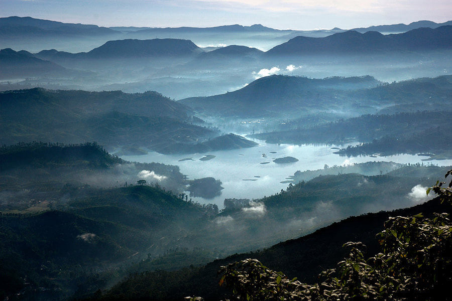 view from Adam's Peak