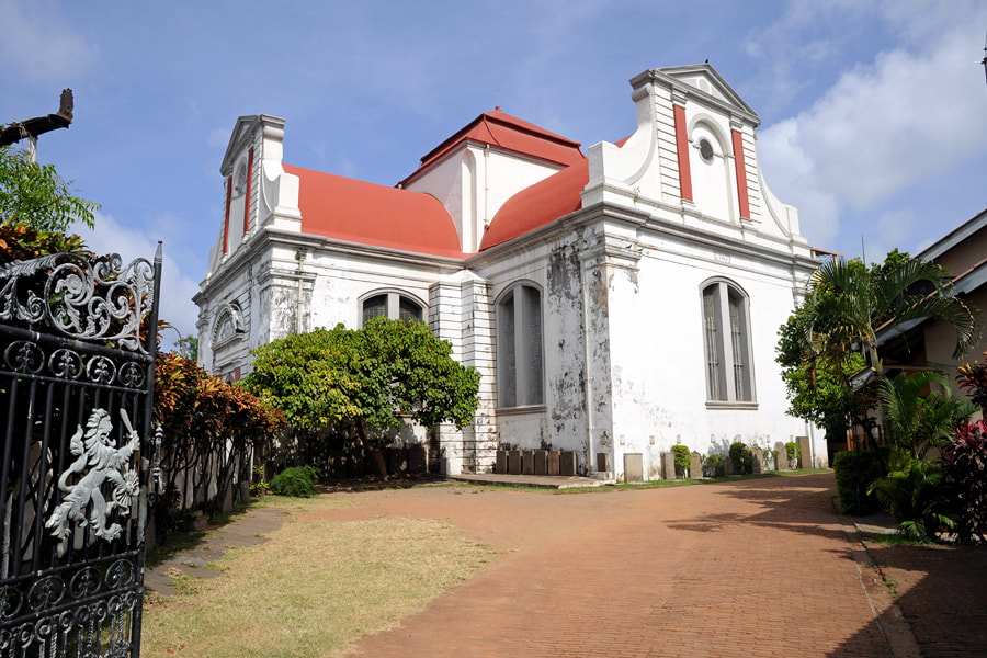Wolvendaal Church in Colombo-Pettah