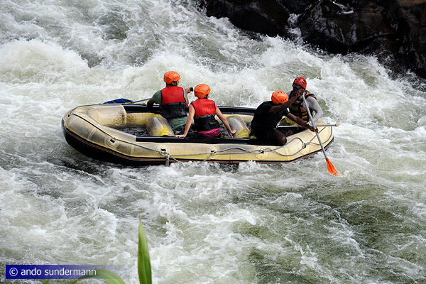Whitewater Rafting in Kithulgala