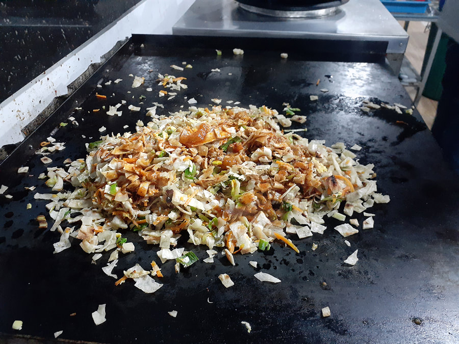 Kottu Roti ready to serve