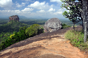 spectacular view from Pidurangala rock