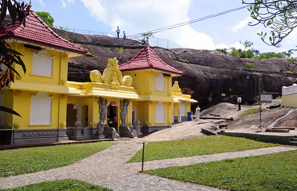 Aluthapola cave temple near Negombo in Gampaha District
