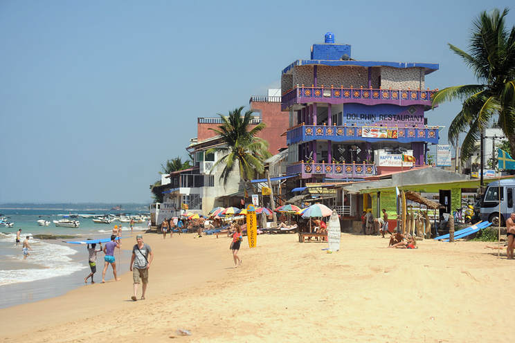 Hikkaduwa Beach near Galle