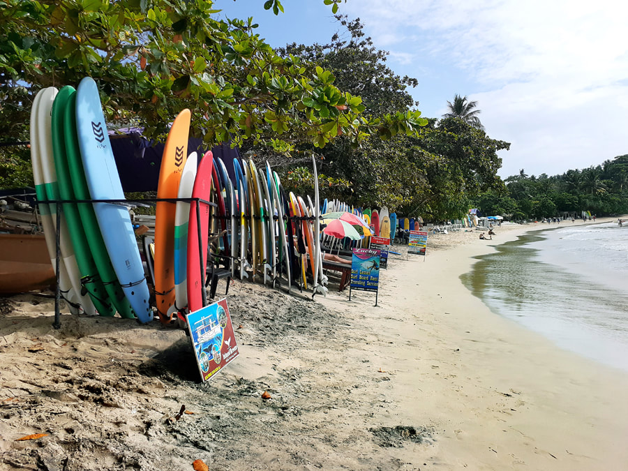Sri Lanka's surfing destination Hiriketiya Beach