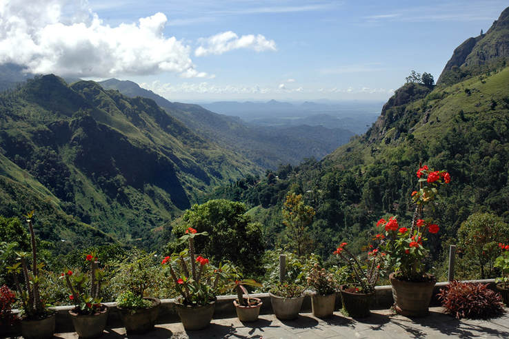 view from Ella Gap Panorama Guesthouse